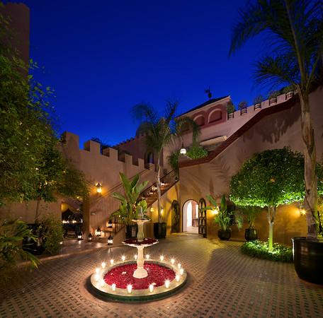 KT Courtyard Night