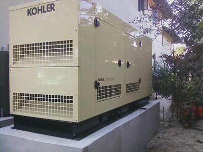 100 KW Kohler Standby Generator