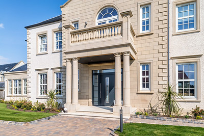 Interior and exterior architectural photography of show home at Archerfield Village