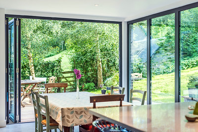 Garden room house extensions architectural photography