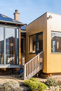 Architectural Photography of extension design with Accoya, Edinburgh