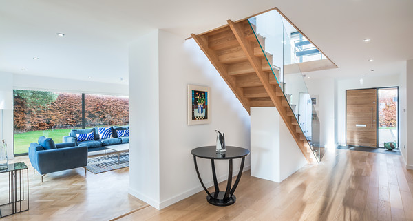 Contemporary house in Longniddry - interior photography