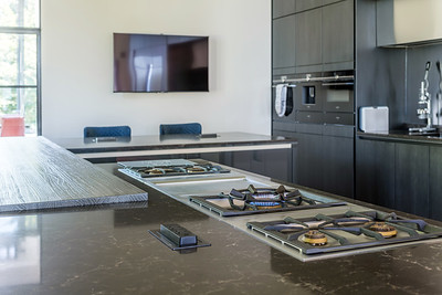 Interior architectural photography of Mark Leigh Kitchens installment in private home - Dundee