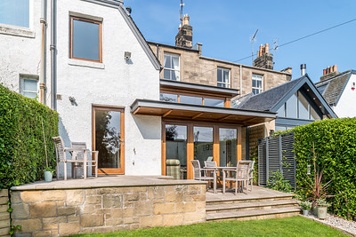 architectural photography of house extension in Edinburgh