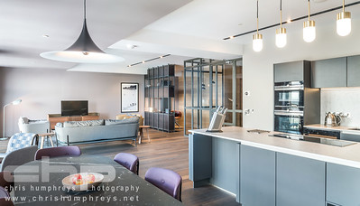 St Andrew Square Apartments - Interior Photography