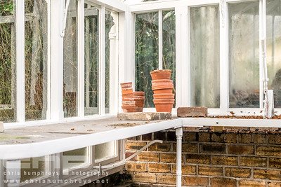 Architectural Photography of a restored Victorian greenhouse in Edinburgh