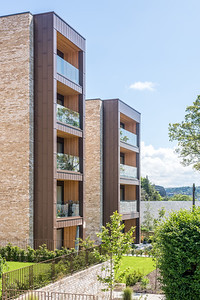 Westerlea apartments - exterior architectural photography