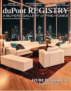 Dupont Registry Home Magazine Cover June 2011