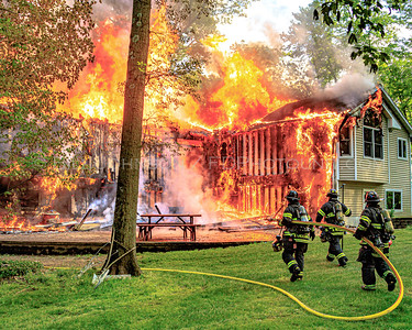 Residential Structure Fire - 25 Queen Anne La. - East Fishkill Fire District - 5/16/2017