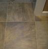 tile detail, rear entry/1st floor bathroom