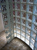 glass shower corner detail