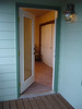 door to master bedroom