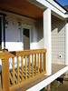 new porch and railings
