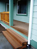 front porch stair and decking