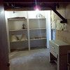 Before - Unfinished Bedroom in the basement