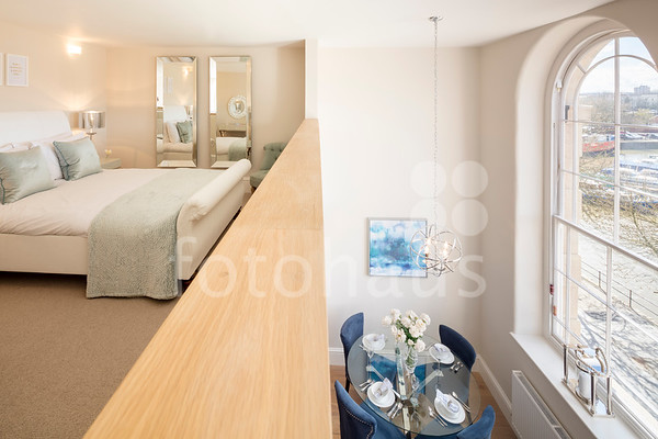 Two bedroom mezzanine apartment, The General