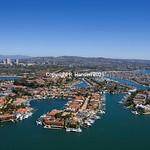 Newport Beach aerials 23, Linda Isle