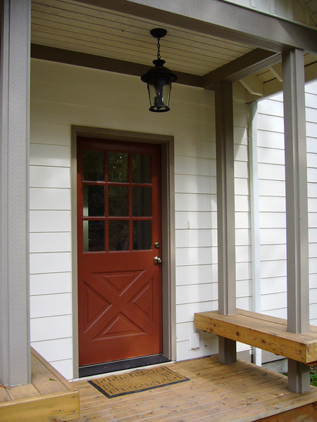 entry porch, lighting