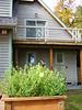 exterior, deck railings