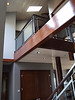 interior woodwork, view to 2nd floor