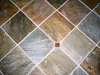 tile work, entry