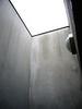 open ceiling above outdoor shower