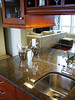 Wet bar area, Hertco cabinets