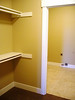 master closet and laundry room