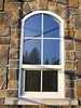 arched window on SE unit