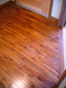 wood flooring at entry