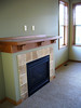 living room fireplace wired for flatscreen television