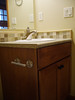 cabinetry in guest bath