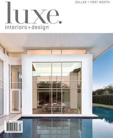 Fifield-Roseberry House.  Featured in LUXE Magazine (Spring '11).  Client:  Michael Malone Architects, Dallas.