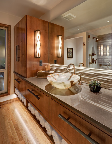 Bathroom in Gresham OR.  Client:  Green Eastman Interior Design, Portland OR