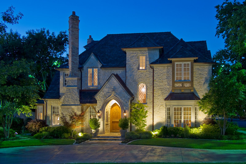 Highland Park home. Client:  Doster Lighting, Inc.