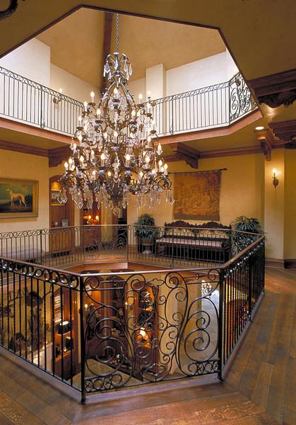 Atrium of Park Cities residence for Advocate magazine.