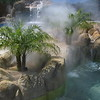 Planter Boxes with Fog Divide Pool Areas