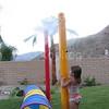 Playground Poles Up Close