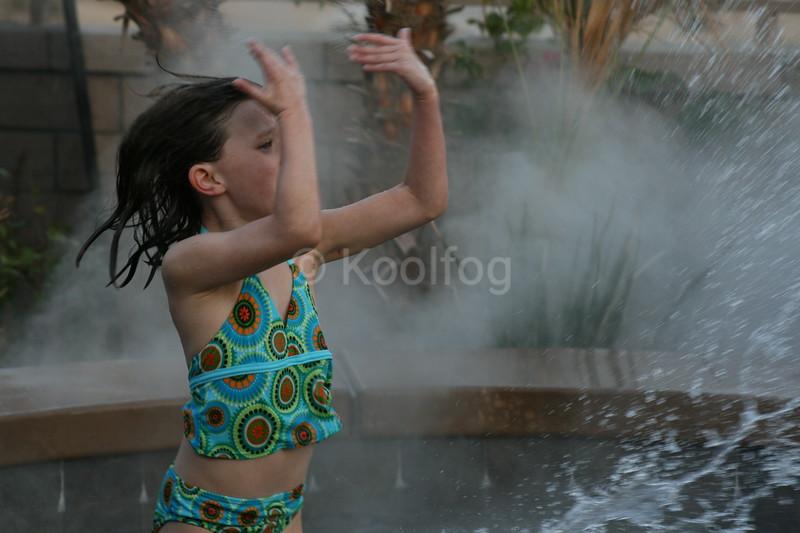 Splashing and Fog
