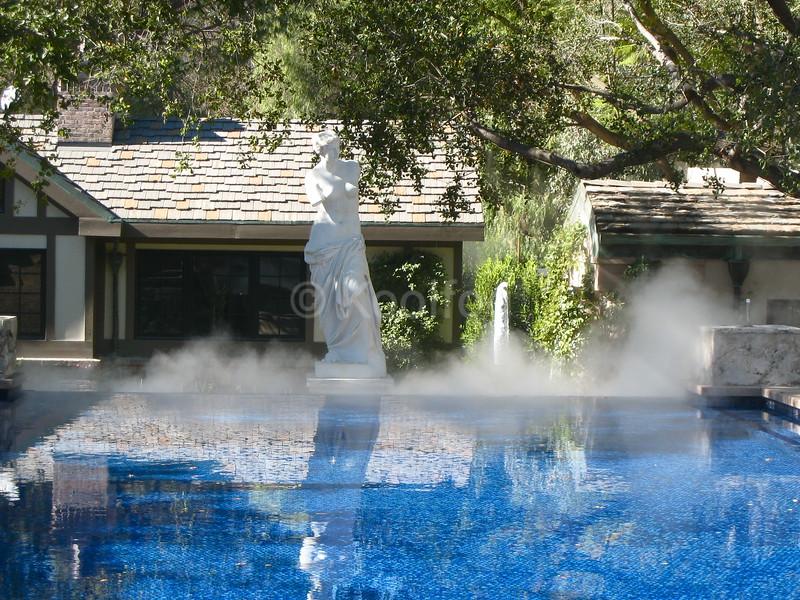 Statue in Fog