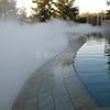 Vanishing Edge Enhanced by Fog