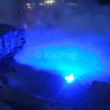 Blue Lighting and Fog in Hot Tub