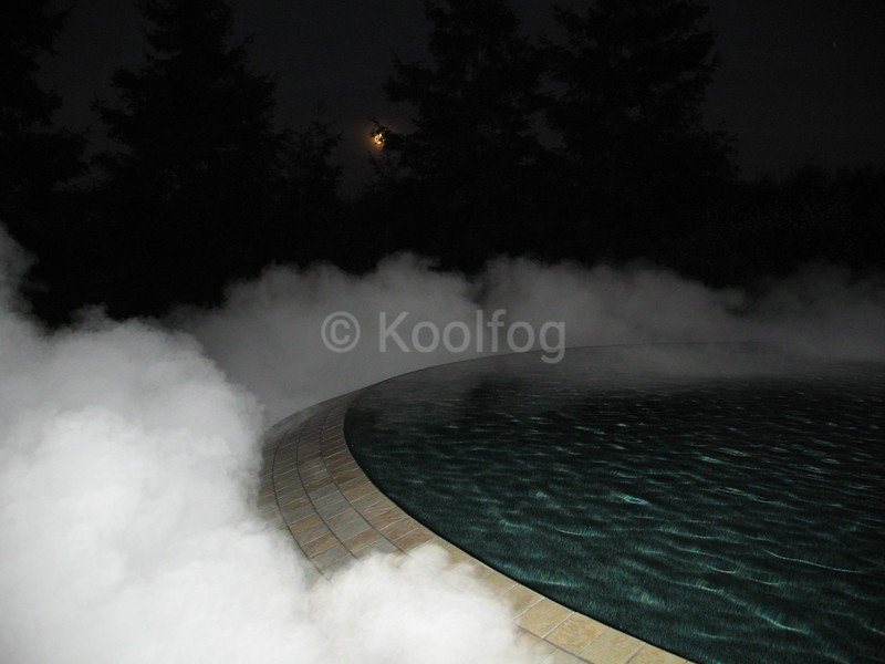 Fog Feature at Night