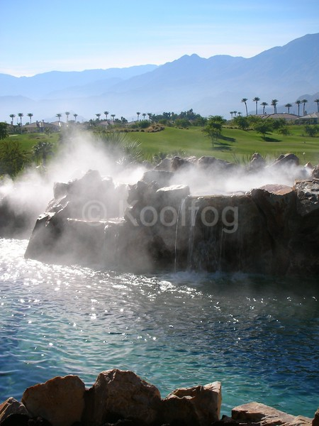 Fog on Water Feature