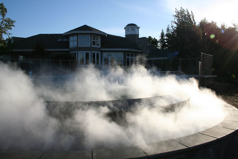 Full Fog Effect on Pool