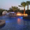 Water Feature and Fire Pit Using Fog