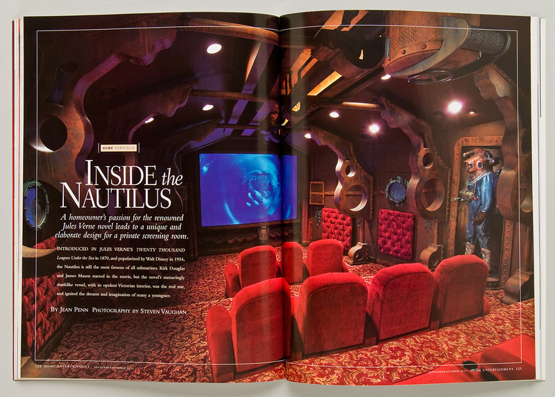 Robb Report - Home Entertainment magazine.