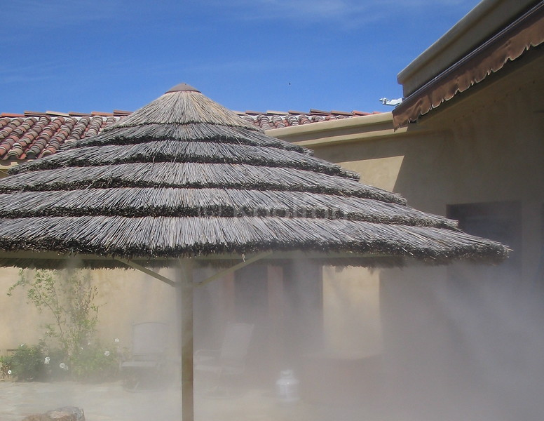 Misting Palapa Close Up