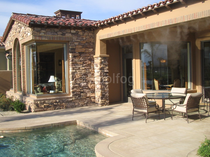 Outdoor Living Enhanced by Koolfog