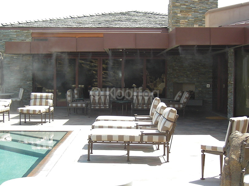 Residential Estate Poolside